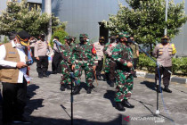 Panglima TNI kunjungi tempat isolasi terpusat Asrama Haji Donohudan