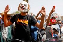 Warga gelar protes anti pemerintah di Tunisia