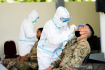 Tiba di Balikpapan, 108 tentara AS dikarantina di Yonif  600 Raiders