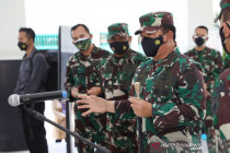 "Panglima TNI pastikan prajuritnya siap bertugas jadi \""tracer\"" COVID-19"