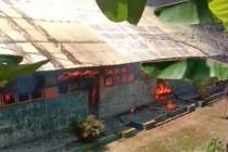SD di Mamuju hangus terbakar
