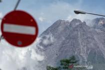 Gunung Merapi mengalami 151 kali gempa guguran