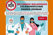 Positif COVID-19 banyak, IDI Malang Raya beri konsultasi gratis isoman