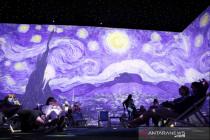 "Pameran \""Van Gogh : The Immersive Experience\"" dibuka untuk publik"