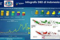 Lima daerah duduki angka kasus DBD tertinggi pada Juni 2021