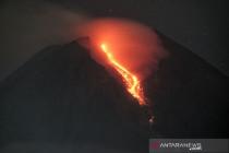 Gunung Merapi 179 kali luncurkan guguran lava selama sepekan