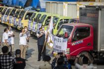 Anies Baswedan lepas penyaluran BSNT DKI Jakarta