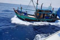 KKP tangkap kapal dan empat nelayan Myanmar di Perairan Selat Malaka