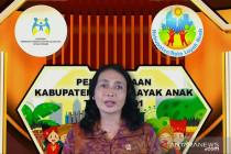 275 daerah terima penghargaan Kabupaten dan Kota Layak Anak