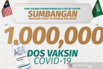 Arab Saudi sumbang satu juta dosis AstraZeneca ke Malaysia