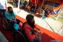 Pemerintah permudah administrasi disabilitas penerima vaksin COVID-19