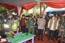 Panglima TNI cek penanganan COVID-19 di Malang