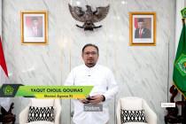 Menag: Nilai-nilai Pancasila sebagai kunci moderasi beragama