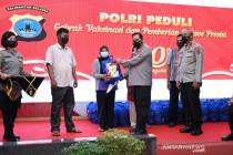 Alumni Akpol 1991 gelar vaksinasi untuk 1.991 warga Kalsel