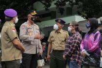 UPNVJ-Polda Metro Jaya lakukan vaksinasi massal pada masyarakat