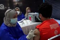 Ribuan anak di Kota Bandung jalani vaksinasi COVID-19
