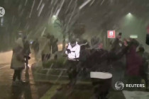 Salju turun di Brazil selatan, musim dingin terekstrem