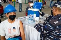 TNI AL gelar vaksinasi sasar warga dan pekerja galangan kapal di Banten