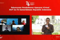 Setpres buka pendaftaraan upacara HUT RI ke-76 secara daring