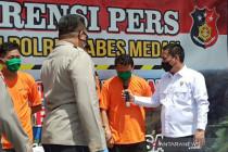 Polisi ungkap motif siram air keras ke wartawan di Medan agar jera