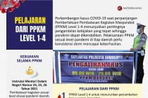 Pelajaran dari PPKM Level 1-4