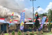 Kapolda Papua: Keluarga korban penembakan bakar Polsek Nimboran