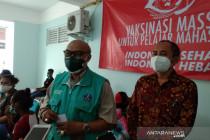 Ratusan mahasiswa nusantara ikuti vaksinasi di Poltekkes Yogyakarta