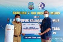 Gubernur imbau perusahaan di Kaltara bantu kebutuhan tabung oksigen