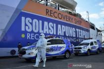 Kapal Pelni jadi lokasi isolasi pasien OTG COVID-19 terapung di Makassar