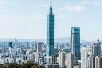 Gedung Taipei 101 di Taiwan lockdown