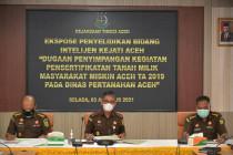 Kejati Aceh usut korupsi pengadaan sertifikat tanah masyarakat miskin