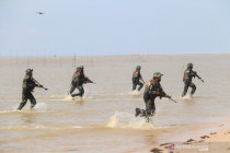 Tanah Merah \'diserbu\' batalyon Raiders dan US Army