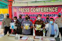 Polresta Barelang tahan 2 tersangka kasus sabu 2,232 Kg