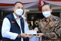 Pengusaha bantu Rp2 miliar untuk penanganan COVID-19 di Surabaya