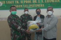 BPJAMSOSTEK Maluku salurkan APD lengkap ke RST Latumeten