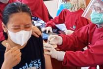 Pelajar hingga disabilitas di Kota Cirebon jalani vaksinasi