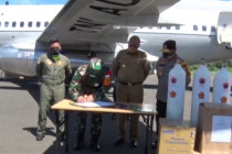 Kodam XVIII Kasuari mendapat bantuan alkes dari Panglima TNI