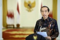 Presiden Jokowi umumkan perpanjangan PPKM level 4