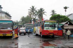 Arus balik di Terminal Rajabasa Bandarlampung melonjak