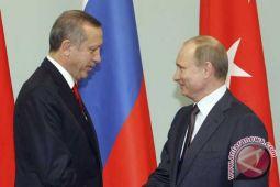 Putin panggil Erdogan ke Rusia di tengah operasi Turki di Suriah