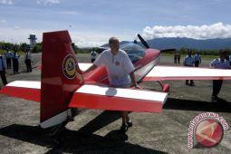 Pesawat sport jatuh di Cilacap