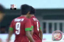 Susunan pemain Indonesia melawan Thailand