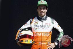 Force India didenda 100ribu euro karena roda terlepas