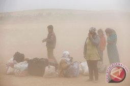 PBB prediksi 2 juta warga Suriah mengungsi ke Turki jika pertempuran memanas