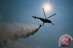 Tiga helikopter bom air dikerahkan untuk atasi kebakaran lahan Riau