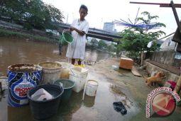 PAM: suplai air bersih Jakarta Barat dan Jakarta Utara terbatas