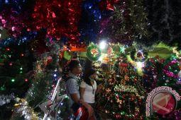 Pernak pernik Natal mulai menghiasi rumah warga Nunukan