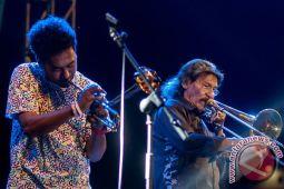 """""""Musi Jazz Sriwijaya"""" temukan musisi Indonesia-Belanda"""