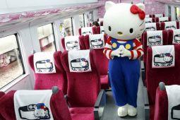 Hello Kitty akan melaju bersama kereta peluru Jepang