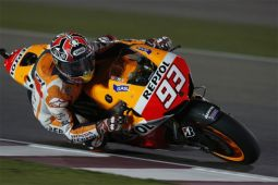 Hasil MotoGP Valencia: Pedrosa tercepat, Marquez juara dunia